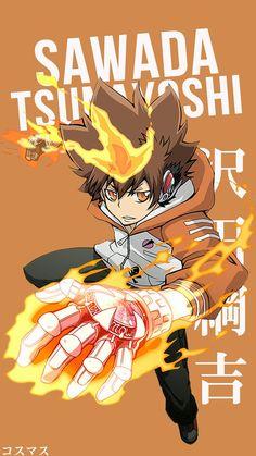 Sawada Tsunayoshi ~ Korigengi | Wallpaper Anime