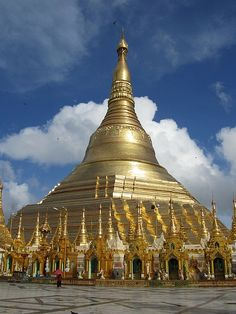 #Schwedagon Paya - Yangon (Rangoon), Myanmar  -We cover the world over 220 countries, 26 languages and 120 currencies hotel and flight deals.guarantee the best price multicityworldtravel.com