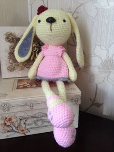 Crochet Rabbit by LaLalaArte on Etsy