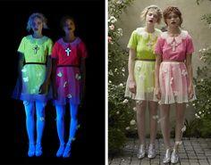 Sretsis glowing flower dresses