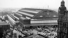 Manchester Central Railway Station in 1964 Stockport Market, Manchester Central, Disused Stations, Old Train Station, Railway Museum, Train Service, British Rail, Salford, Central Station