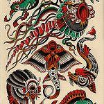 sea creature sheet von Kyler Martz