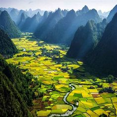 traveling places  Bac  Son Valley