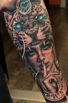 Dope Tattoos, Native Tattoos, Cool Forearm Tattoos, Skull Tattoos, Arm Tattoos For Guys, Chicano Tattoos Sleeve, Arm Sleeve Tattoos, Leg Tattoo Men, Leg Tattoos
