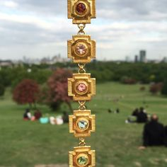 She is like a rainbow #tourmaline #primrosehill #crystals