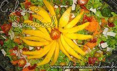 Salada de Folhas Verdes e Manga » Receitas Saudáveis, Saladas » Guloso e Saudável