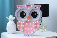 Owl lamp Owl light Owl Night light Baby room nursery night