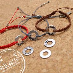 personalized bracelets, friendship bracelets, macrame bracelets, bransoletki z napisami