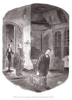 Charles Addams.