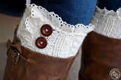 I love the versatility of leg cuffs over regular boot socks. I like it even more that I can make my own