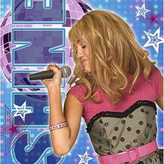 Hannah Montana Rock The Stage Lunch Napkins