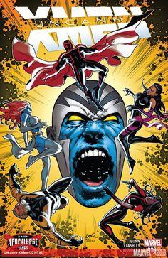 """Imposible Patrulla-X 51¡Continúa """"Guerras de Apocalipsis"""". Mariposa Mental y sus compañeros de La Patrulla-X tratan de salvar de la corrupción a uno de los nuevos aliados de Apocalipsis, pero pronto descubrirán que cualquiera de sus esfuerzos tal vez no sirva para nada."""