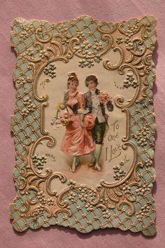 Post card Victoriano