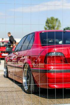 "BMW E38 Imola rot 730d Schmidt VN Line 20"""