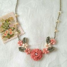 needlework necklace