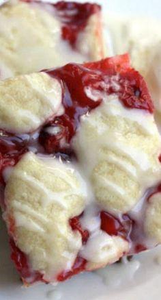 Cherry Pie Bars Recipe ~ They are the bomb! Cherry Pie Bars Recipe ~ They are the bomb! Cherry Desserts, Cherry Recipes, Köstliche Desserts, Delicious Desserts, Dessert Recipes, Bar Recipes, Recipe For Cherry Pie, Cherry Danish Recipe, Recipies