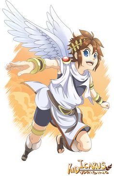 Love pit! He's so cute aswell as dark pit!