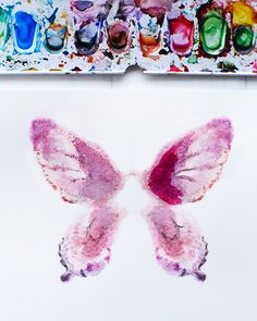 Butterfly Watercolor Notecards - http://www.sweetpaulmag.com/crafts/butterfly-watercolor-notecards #sweetpaul