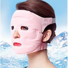 2016 New Fashion Hotsale Tourmaline + Gel Slim Face Facial Beauty Mask Facemask Health Care Facial Restoration