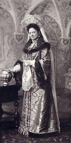 Madame Terepchoninaby at the Winter Palace Costume Ball of 1903.....026 by klimbims on deviantART