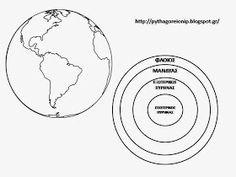 Για να καταλάβουν λίγο καλύτερα πως είναι η γη και το εσωτερικό της θα χρησιμοποιήσω τις περσινές μεθόδους ( εδώ ) και το επόμενο φύλλο θ... Earth Layers, Quiet Book Templates, After School, Planets, Projects To Try, Blog, Dental Care, Greek, Space