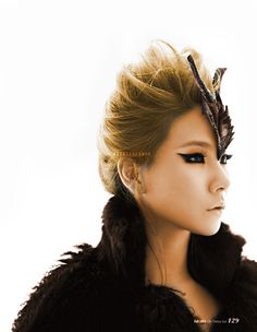 2ne1's CL...love everything about this photo, especially the makeup #WinWayneGossTheCollection