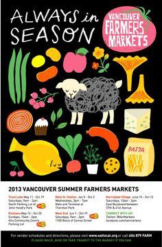 Vancouver Farmers Market Guide 2013