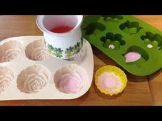 EASY DIYs SOAP MAKING-MELT AND POUR FLOWER SOAP FOR BATHROOM DECORATION-PART.1 - YouTube