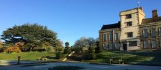 Canons ashby on a bright frosty morning