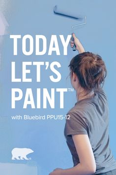 Give your home a fresh new look with Bluebird, a bright and spirited blue.  Click below to explore color details. Light Grey Walls, Purple Walls, Irrigation, Sky Gazing, Behr Paint Colors, Teal Accents, Porche, Blue Rooms, Painted Pots