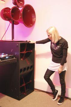 Speaker Plans, Speaker System, Dj Sound, Hifi Speakers, Subwoofer Box, Vinyl Record Storage, Dj Booth, Dj Equipment, Speaker Design