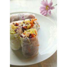 Mango Salad Rolls Recipe on Yummly. @yummly #recipe