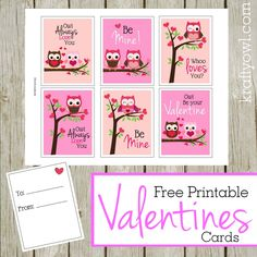 Valentine Owls Cover