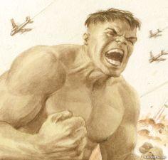 The Hulk by Paolo Rivera *