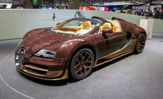 Bugatti Veyron Grand Sport Vitesse Rembrandt - @ 84th Geneva Motor Show