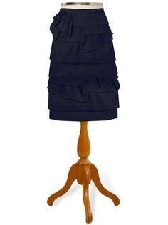 asymmetrical ruffle skirt                                  perfect,adorable,romantic
