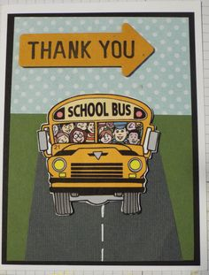 Bus Driver Thank You - Scrapbook.com