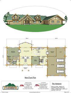 Modesto Pioneer log homes