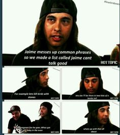 Pierce The Veil talking about Jaime Preciado. Can't wait to see them in concert