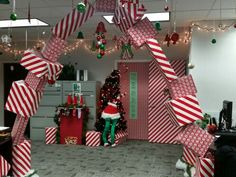 Workplace Christmas decorating on overload!
