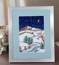 Christmas Cross-Stitch Pattern | Cross-Stitch | Christmas Crafts — Country Woman Magazine  #countrywoman#merrychristmas
