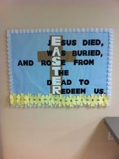 christian bulletin board ideas - Bing Images bulletin board ideas for daycare easter crafts