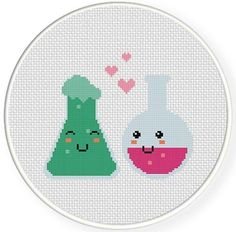 Love Chemistry Cross Stitch Pattern | Craftsy