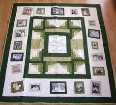 Photo Memory Quilt  Custom Designed with your by MomNMiaQuilts, $295.00