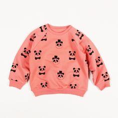 Mini Rodini panda reversible sweatshirt for the little ones