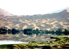 Dunes and lakes in Badain Jaran Desert (Inner Mongolia, China) Wonderful Places, Beautiful Places, Architecture Tattoo, Funny Tattoos, Celebrity Travel, China Travel, Eastern Europe, Old Town, Landscape Photography