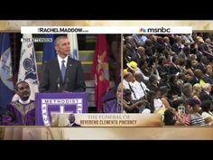 Rachel Maddow - President Obama on amazing change and amazing grace - YouTube