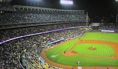 Dodger Stadium, for 8 day convention, 1969. Oh man do I remember these things.
