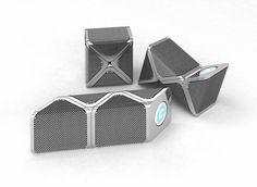 """Portable speakers """"Snakes"""" by Junonna Trotsiuk, via Behance"""