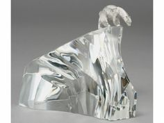 bear glass sculpture | Items in the Worthopedia are obtained exclusively from licensors and ...